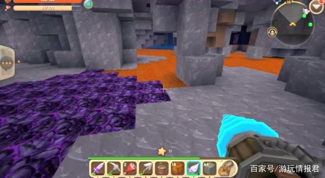 迷你世界:如何快速挖掘钻石?掌握一个技巧,化身迷你风水先生